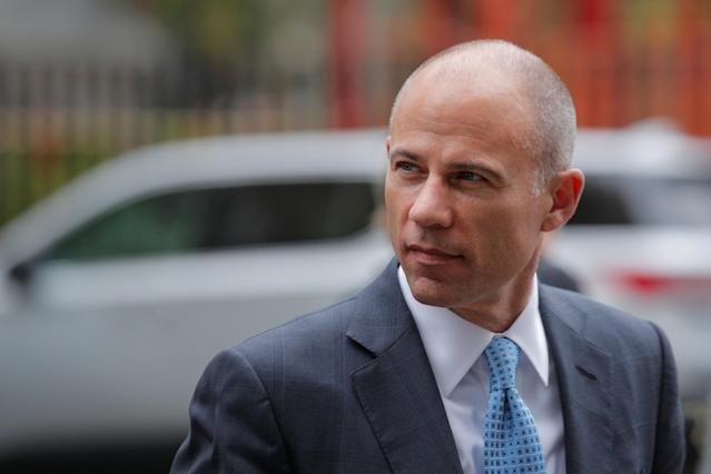 Attorney Michael Avenatti arrives at the United States Courthouse in New York City, U.S., Oct. 8, 2019. (Reuters)
