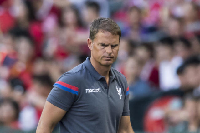 It's been a nightmare start to Frank de Boer's life as Crystal Palace manager, but he can still turn it around and be a success at Selhurst Park.
