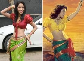 Nushrat Bharucha's look in 'Dhagala Lagli Kala' was inspired by Madhuri Dixit