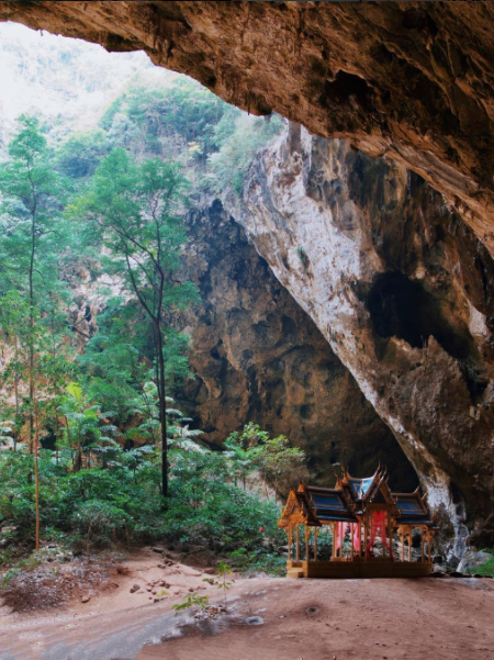 The cave temple in Hua Hin is nothing short of magical. Photo: Instagram