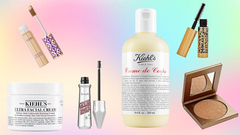 Save on your favorite beauty products at Kiehl's, Tarte, and more.