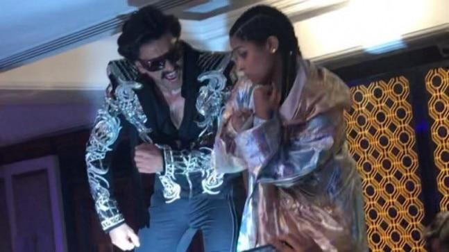 Recently, while attending an event in Mumbai, Ranveer Singh and Lilly Singh got on to the dance floor together to show off their killer moves on Bruno Mars's song Uptown Funk.