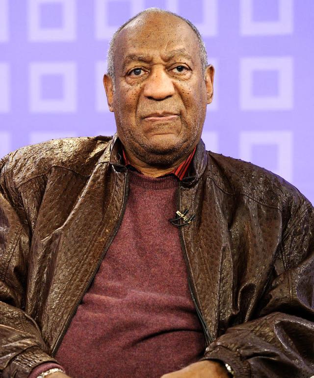 "<p>In 1997, a woman named Autumn Jackson claimed to be Cosby's illegitimate daughter and <a href=""http://www.cnn.com/US/9707/25/cosby.update/index.html"" rel=""nofollow noopener"" target=""_blank"" data-ylk=""slk:demanded $40 million"" class=""link rapid-noclick-resp"">demanded $40 million</a> from the actor to stay quiet. Jackson and two others were ultimately convicted of extortion, conspiracy, and crossing state lines to commit a crime. (Photo: Peter Kramer/NBC/NBCU Photo Bank via Getty Images) </p>"