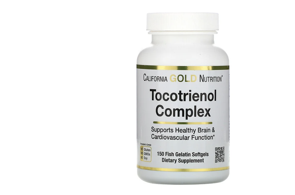 California Gold Nutrition, Tocotrienol Complex. (PHOTO: iHerb Singapore)