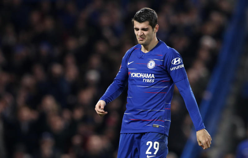 Sevilla chief Caparros: Major competition for Chelsea striker Morata