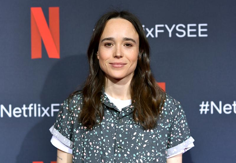 LOS ANGELES, CALIFORNIA - MAY 11: Ellen Page attends Netflix's 'Umbrella Academy' Screening at Raleigh Studios on May 11, 2019 in Los Angeles, California. (Photo by Emma McIntyre/Getty Images for Netflix)
