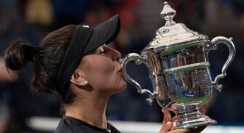 Bianca Andreescu gives most Canadian apology to crowd for winning US Open
