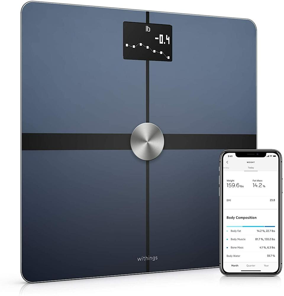 <p>Get on track with your fitness goals with the <span>Withings Body+ Smart Body Composition Wi-Fi Digital Scale With Smartphone App</span> ($79, originally $100).</p>