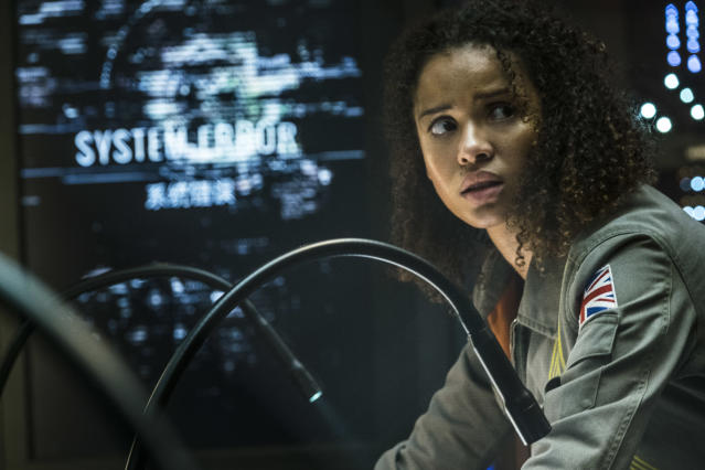 Gugu Mbatha-Raw stars in Netflix's secret Super Bowl film  <em>The Cloverfield Paradox </em> (Photo: Netflix)