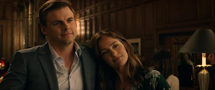 "Tommy Dewey plays a family man feeling trapped in his work life and at home with his wife (Minka Kelly) in the dramedy ""She's in Portland."""