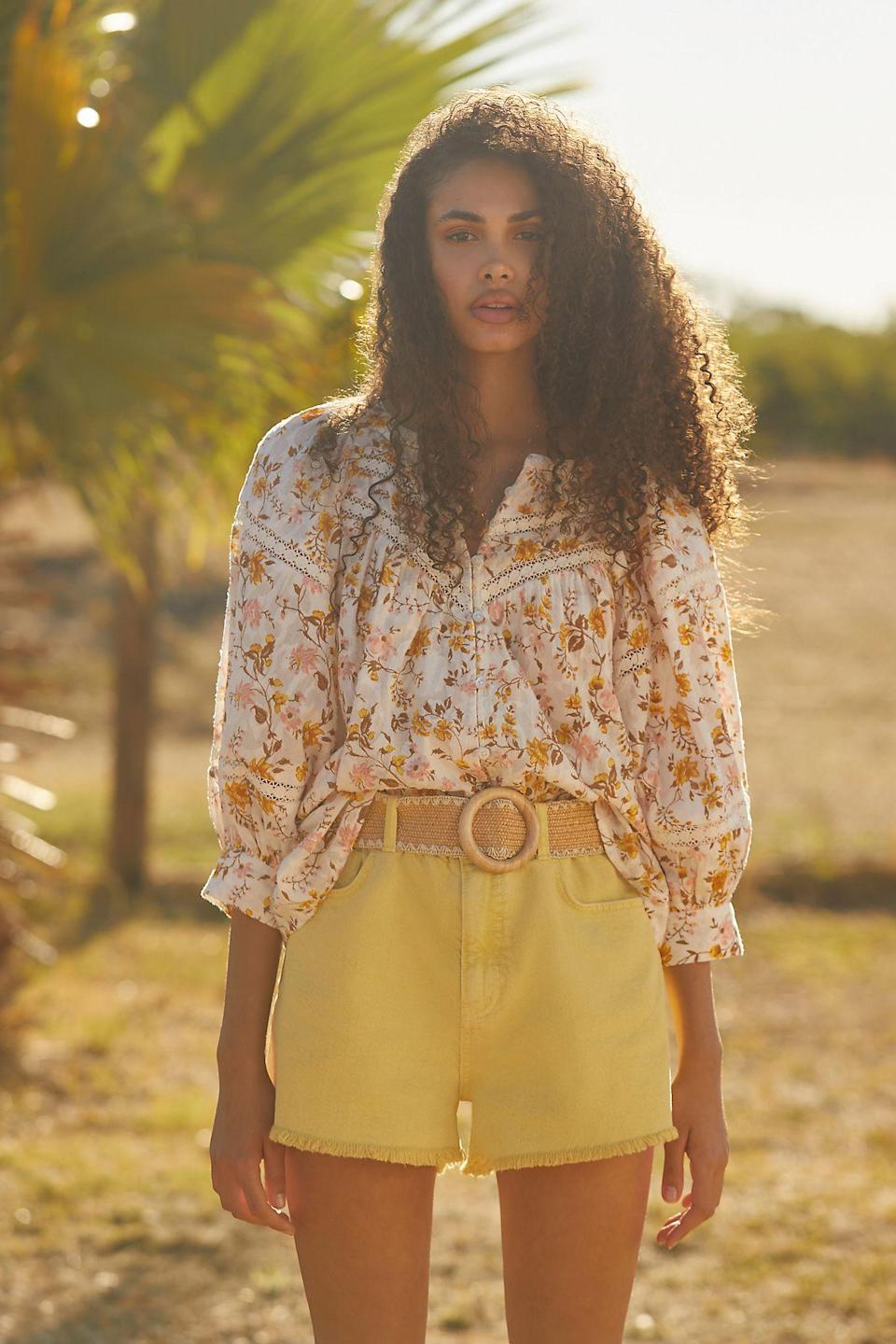 """<br><br><strong>Anthropologie</strong> Harmony Lace Peasant Blouse, $, available at <a href=""""https://go.skimresources.com/?id=30283X879131&url=https%3A%2F%2Fwww.anthropologie.com%2Fshop%2Fharmony-lace-peasant-blouse"""" rel=""""nofollow noopener"""" target=""""_blank"""" data-ylk=""""slk:Anthropologie"""" class=""""link rapid-noclick-resp"""">Anthropologie</a>"""