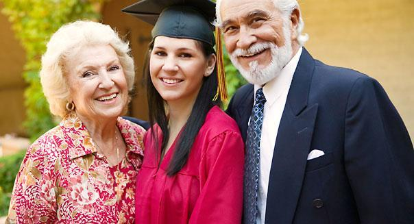 Grandparents helping with college aid