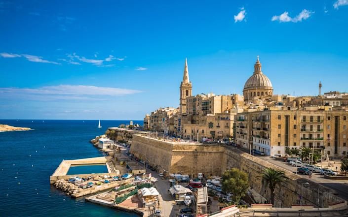 Only vaccinated Britons will be allowed into Malta without having to quarantine