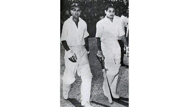 Vinoo Mankad and Pankaj Roy (1956). Facebook/bhogleharsha