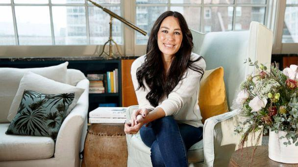 PHOTO: In this Nov. 6, 2018 photo, Joanna Gaines poses for a portrait at The Greenwich Hotel in New York to promote her book 'Homebody: A Guide to Creating Spaces You Never Want to Leave.' (Photo by Brian Ach/Invision/AP) (Brian Ach/Invision/AP, FILE)