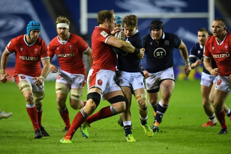 Wales' captain Alun Wyn Jones who won his first cap when Louis Rees-Zammit was five-years-old says he hopes the wing's man of the match performance against Scotland is the tip of the iceberg