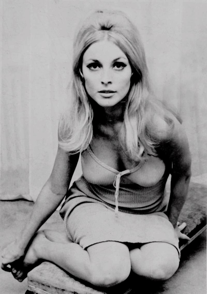 Actress Sharon Tate is shown in this undated photo. Tate, who starred in television and film roles, was identified by police as one of five victims found slain in her Benedict Canyon estate Aug. 9, 1969 in California. (AP Photo)