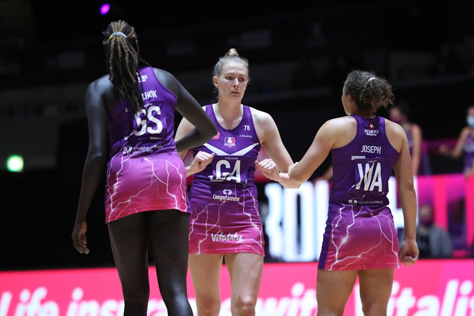 Clark's Lightning will duel it out with Leeds Rhinos for a place in the Vitality Superleague Final on Saturday night