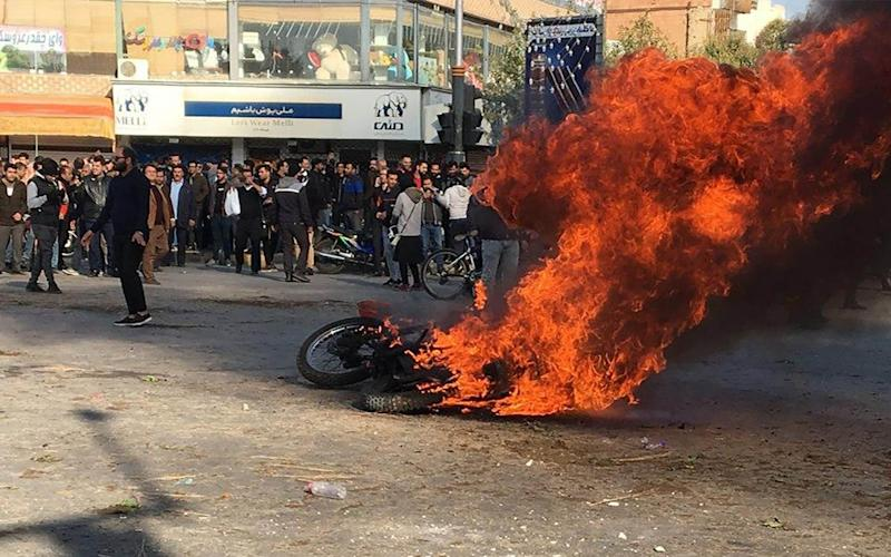 More than 200 people have been killed in the protests, according to Amnesty - AFP