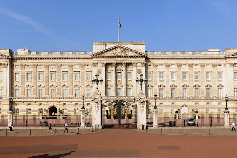 Security staff detained the man at the palace's visitor entrance: PA Archive/PA Images