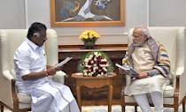 <p>A year after his resignation as CM, on 23 May 2016, he was sworn in as Minister for Finance and Public Works Departments in Jayalalithaa's government. </p>