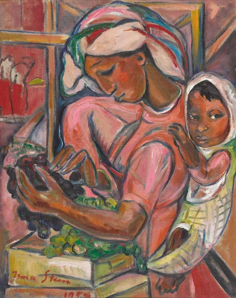 Irma Stern, 'Grape Packer' (1959)