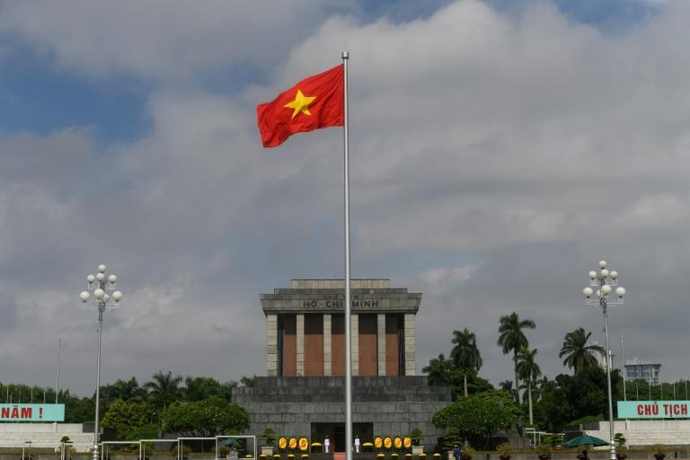 Ho Chih Minh's aides built a grand tomb, drawing inspiration from Lenin's mausoleum, the pyramids in Egypt and the Washington Monument