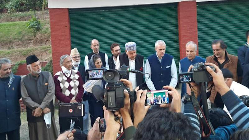 Farooq Abdullah Questioned by ED: Political Vendetta After Formation of People's Alliance, Says Omar Abdullah