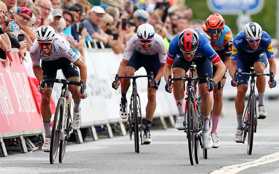 Ethan Hayter still mixing it with the best and retains narrow Tour of Britain lead after stage six - GETTY IMAGES