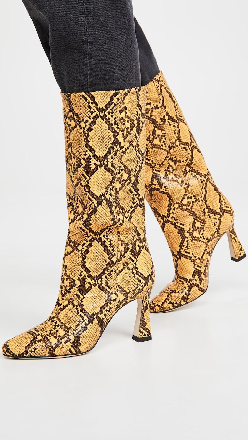<p>Get ready for spring with these <span>Chelsea Paris Queen Boots</span> ($298, originally $595).</p>