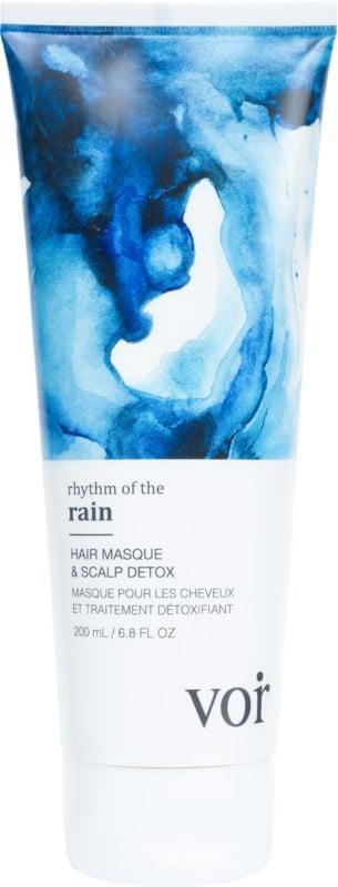 <p>The <span>Voir Rhythm of the Rain Hair Masque &amp; Scalp Detox</span> ($20, originally $28) will sooth your scalp and will leave your hair moisturized and soft.</p>