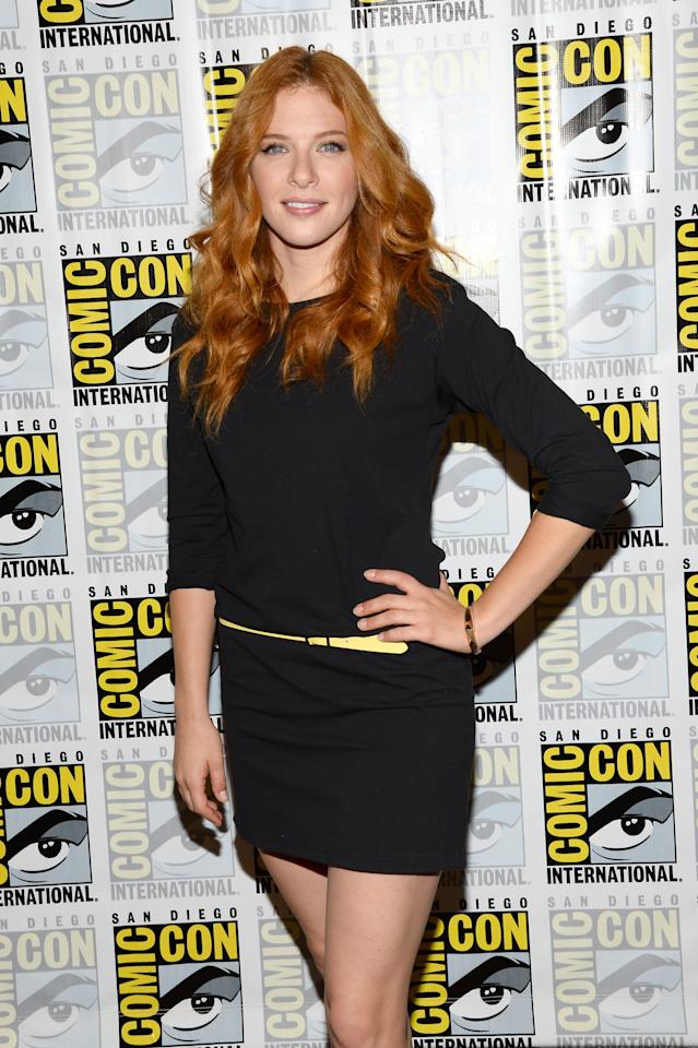 "SAN DIEGO, CA - JULY 20: Actress Rachelle Lefevre attends ""Under The Dome"" Press Line during Comic-Con International 2013 at Hilton Bayfront on July 20, 2013 in San Diego, California. (Photo by Ethan Miller/Getty Images)"