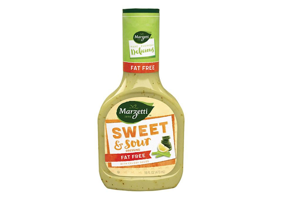 bottle of marzetti sweet and sour dressing