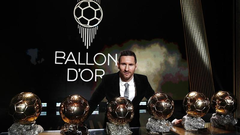 Lionel Messi is the only player to win the Ballon d'Or six times