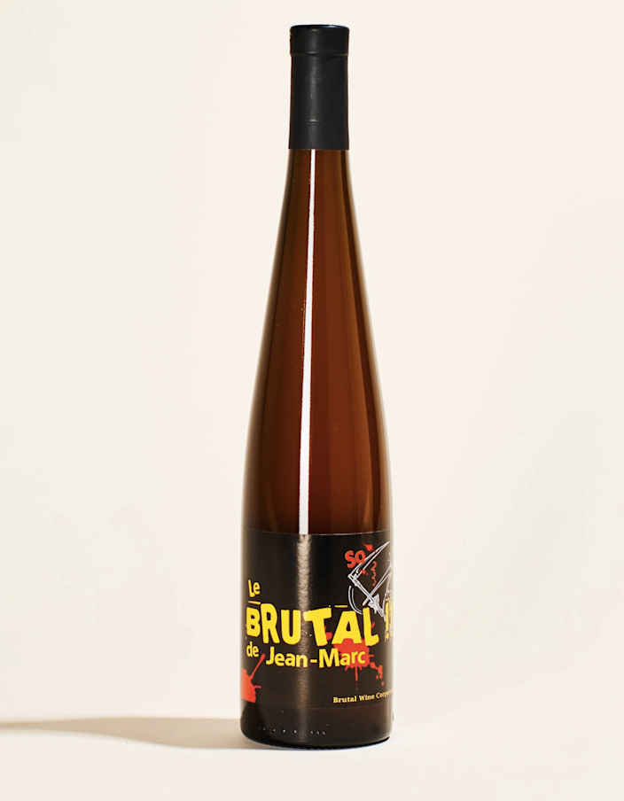 "Riesling lovers, this one's for you. With naturally occurring yeast and no added sulfites, this orange blend spends around 18 days on the skins, and presents notes of sea salt, florals, and citrus fruit. Keep it on deck for BBQs, as it's best paired with grilled chicken and finger foods. $36, Mysa Natural Wine. <a href=""https://mysa.wine/collections/natural-wine-store/products/les-vins-pirouettes-le-brutal-de-jean-marc"" rel=""nofollow noopener"" target=""_blank"" data-ylk=""slk:Get it now!"" class=""link rapid-noclick-resp"">Get it now!</a>"