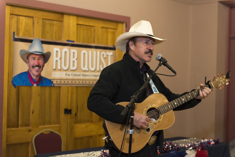 Rob Quist is famous in Montana for fronting the Mission Mountain Wood Band.