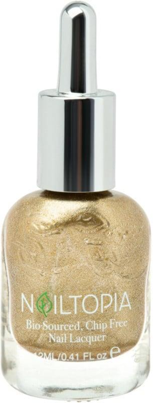 <p>No other sign enjoys the center of attention quite like a Leo. Your winter nail polish shade has to make a statement. Try the <span>Nailtopia Plant-Based Liquid Gold Nail Lacquer</span> ($10).</p>
