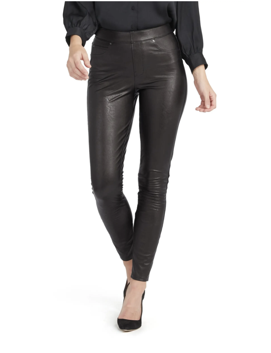 Spanx Faux Leather-Like Ankle Skinny Pants - Nordstrom, $148.