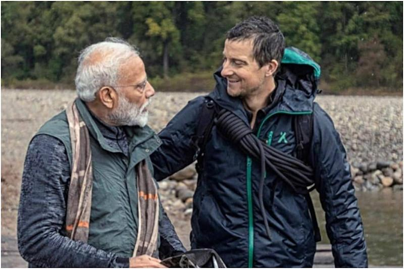 PM Modi Reveals How Bear Grylls Understood His Hindi on Man vs Wild Episode