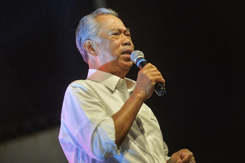 Tan Sri Muhyiddin Yassin said the third bridge linking Malaysia to Singapore will likely be decided only after a comprehensive research is carried out on its necessity to alleviate traffic congestion into Johor. — Picture by Shafwan Zaidon