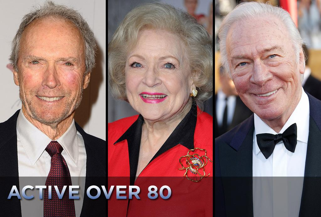 Some people count the days until their retirement. But if you're really passionate about what you do, why stop? Here are nine talents that are over 80 years old but continue working with no signs of slowing down.