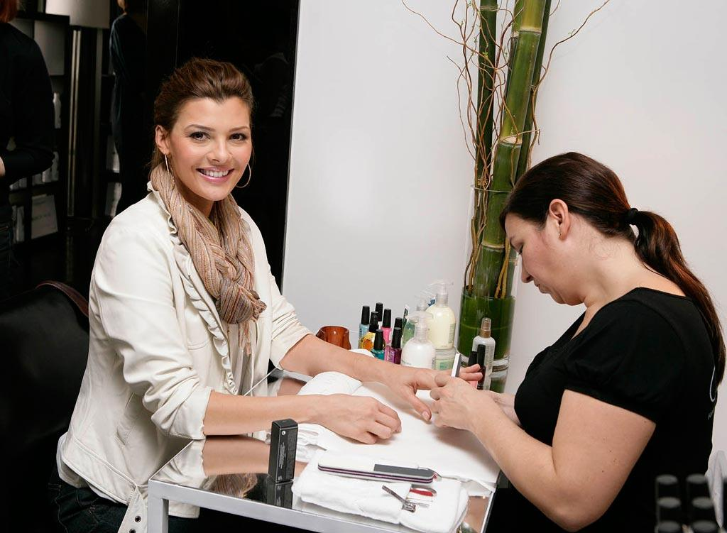 "Former Miss USA turned ""Doritos Girl"" Ali Landry got pampered at the Elle/Biolage Awards Week Salon and Spa Day. Todd Williamson/<a href=""http://www.wireimage.com"" target=""new"">WireImage.com</a> - February 21, 2008"