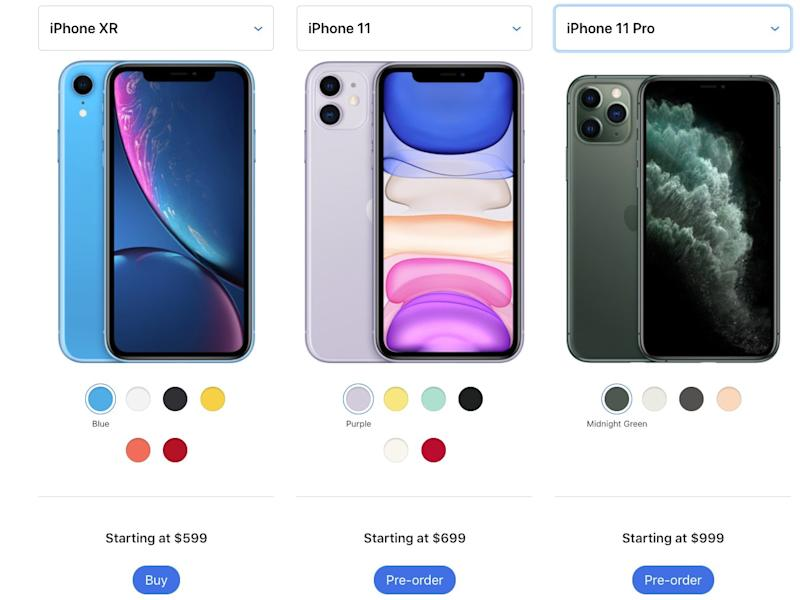 iPhone XR / iPhone 11 / iPhone 11 Pro