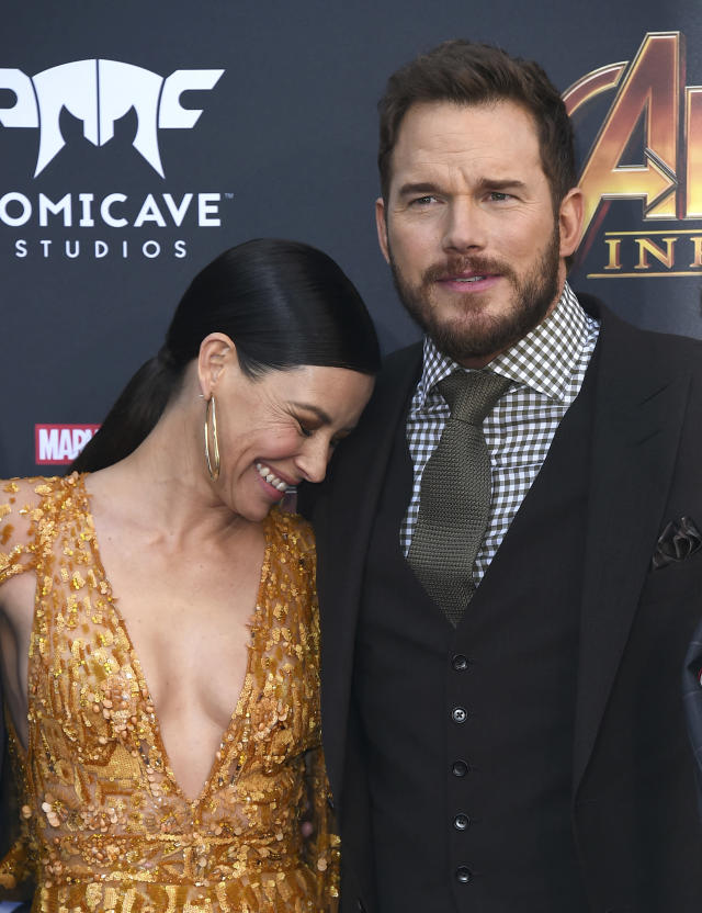 "<p>This is how rumors get started. Pratt, who split from wife Anna Faris last year, posed next to the <em>Ant-Man</em> actress, and there are already headlines about them ""flirting."" (Photo: Jordan Strauss/Invision/AP) </p>"