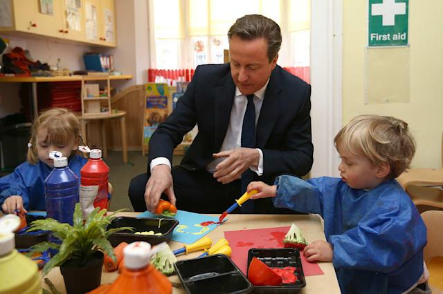 Cameron visit to south west London