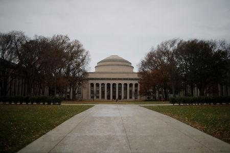 Building 10 sits behind Killian Court at the Massachusetts Institute of Technology (MIT) in Cambridge, Massachusetts, U.S., November 21, 2018. REUTERS/Brian Snyder