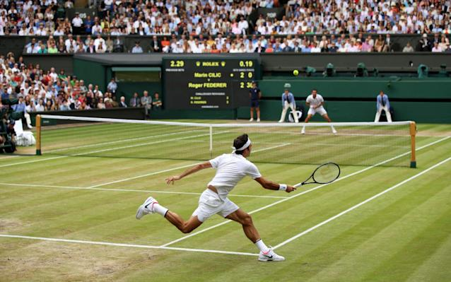 <span>Federer needed just one hour and 41 minutes to defeat Cilic</span>
