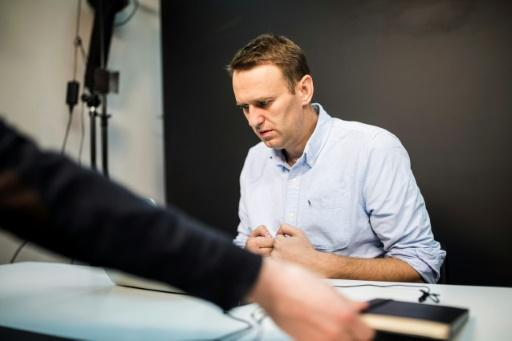 Russian opposition leader Navalny fined over campaign leaflets