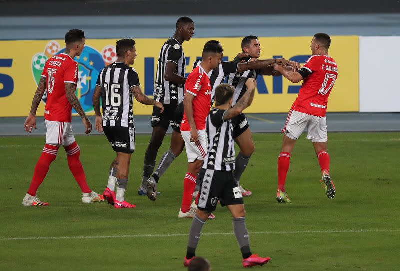 Galhardo's fourth goal in three games give Inter away win