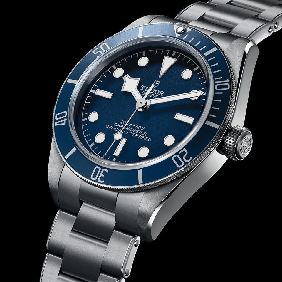 """<p>Anyone with three grand to spare and a soft spot for dive watches was spoilt for choice in 2020. From Breilting's Superocean Heritage '57 to Omega's Seamaster Diver 300m Co-Axial there were were some great releases. Tudor's Black Bay 58 – the Submariner-a-like diver from Rolex's sibling brand – has been hugely popular since it launched two years ago. This 2020 version doubled down on the vintage styling by referencing the blue dial and blue bezel found on the """"Blue Snowflake"""" Tudor watches made in the Seventies. </p><p>£2,760;<a href=""""https://www.tudorwatch.com/en?ef_id=Cj0KCQiAw_H-BRD-ARIsALQE_2OiO2Kwg7x1y3yp_nBp7B9JXnBoACk9L6GNP-YdhgUrygG04ZWU3R8aAgg_EALw_wcB:G:s&s_kwcid=AL!141!3!208158420907!b!!g!!%2Btudor%20%2Bwatches"""" rel=""""nofollow noopener"""" target=""""_blank"""" data-ylk=""""slk:tudorwatch.com"""" class=""""link rapid-noclick-resp""""> tudorwatch.com</a></p>"""